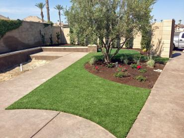Artificial Grass Photos: Artificial Grass Installation Alpine Village, California Landscape Photos, Front Yard Landscaping Ideas