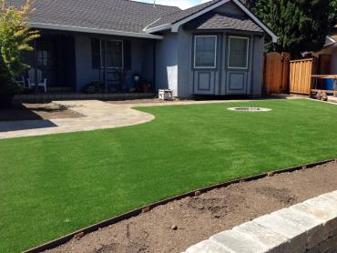 Artificial Grass Photos: Artificial Grass Installation Thermal, California Landscape Photos, Front Yard Landscaping
