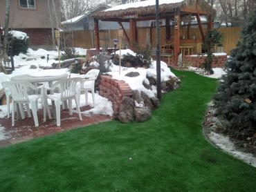 Artificial Grass Photos: Artificial Lawn Cherry Valley, California Backyard Deck Ideas, Backyard Landscape Ideas