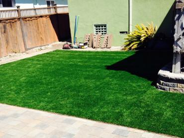Artificial Grass Photos: Artificial Turf Installation Cathedral City, California Paver Patio, Backyard Landscaping Ideas
