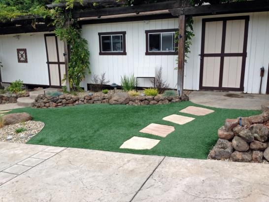 Artificial Grass Photos: Green Lawn Calimesa, California Backyard Deck Ideas, Front Yard Landscaping Ideas
