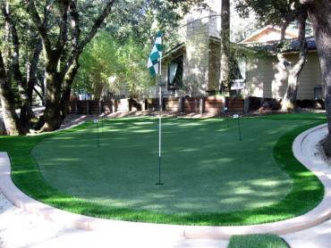 Artificial Grass Photos: Green Lawn Oasis, California Gardeners, Backyard Landscaping