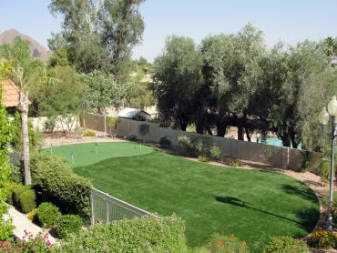 Green Lawn Oasis, California Landscape Ideas, Backyard Designs artificial grass