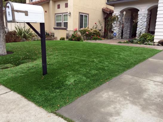 Artificial Grass Photos: Green Lawn Palm Desert, California Landscape Rock, Front Yard Landscaping