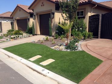 Artificial Grass Photos: Installing Artificial Grass Mecca, California Backyard Deck Ideas, Front Yard