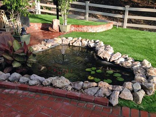 Artificial Grass Photos: Plastic Grass Beaumont, California Backyard Deck Ideas, Backyard Ideas