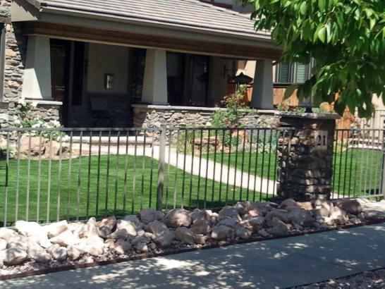 Artificial Grass Photos: Plastic Grass East Blythe, California Landscape Rock, Front Yard Landscaping