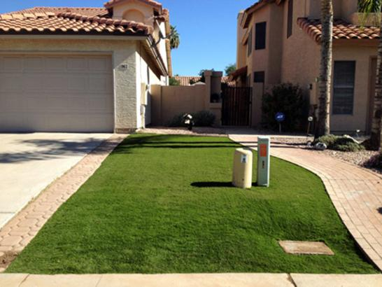 Artificial Grass Photos: Synthetic Grass Desert Edge, California Landscape Design, Front Yard Landscaping Ideas