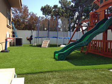 Artificial Grass Photos: Synthetic Lawn Palm Springs, California Backyard Playground, Backyard Landscape Ideas