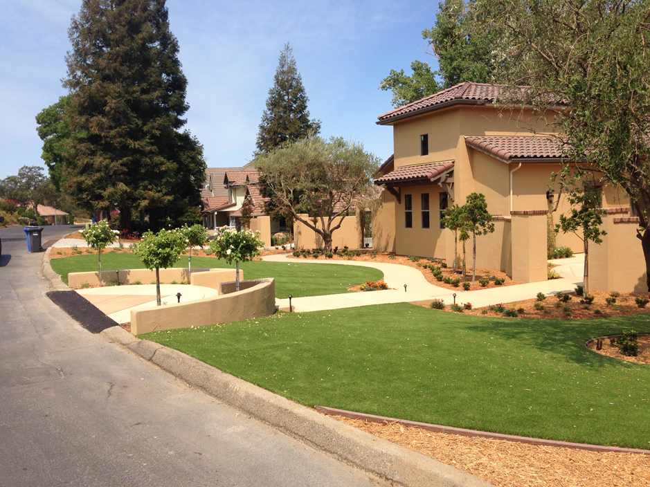 Synthetic Grass Winchester, California Roof Top, Landscaping Ideas ...