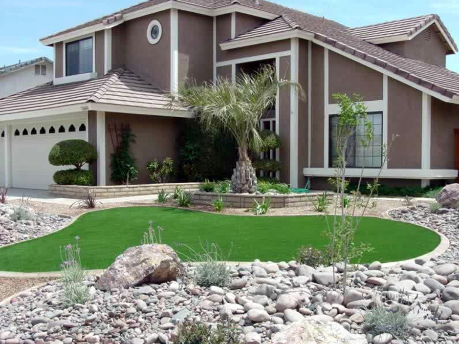 Synthetic Lawn Lakeland Village, California Lawn And Garden, Front ...